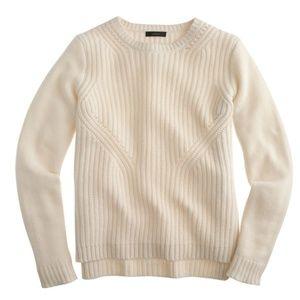 J.Crew Women Sweater Knit Pullover Lambswool
